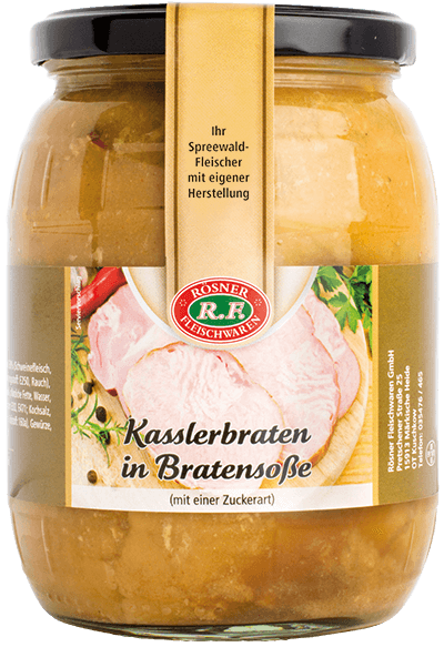 Kasslerbraten in Bratensoße